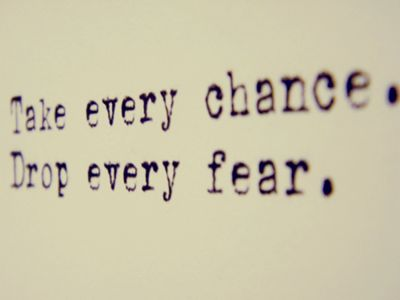 TruthLife Quotes, Take Chances, Remember This, Inspiration, Drop, Living Life, Life Mottos, A Tattoo, Fear Quotes