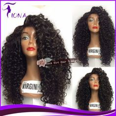 Find More Wigs Information about Glueless Full Lace Human Hair Wigs Kinky Curly 100% Unprocessed Brazilian Virgin Hair Lace Front U Wigs For Black Women,High Quality wig holder,China hair wigs women Suppliers, Cheap hair bow wig from Qingdao Black Girl Hair Products Co.,LTD on Aliexpress.com