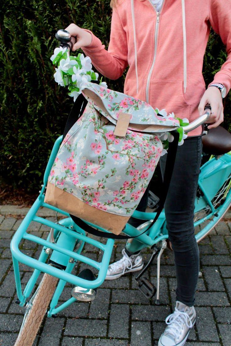 Lenkertasche / Freebook / Bike Pannier /DIY /Schultertasche