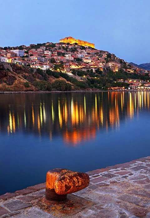 Molivos, Lesvos island, Greece