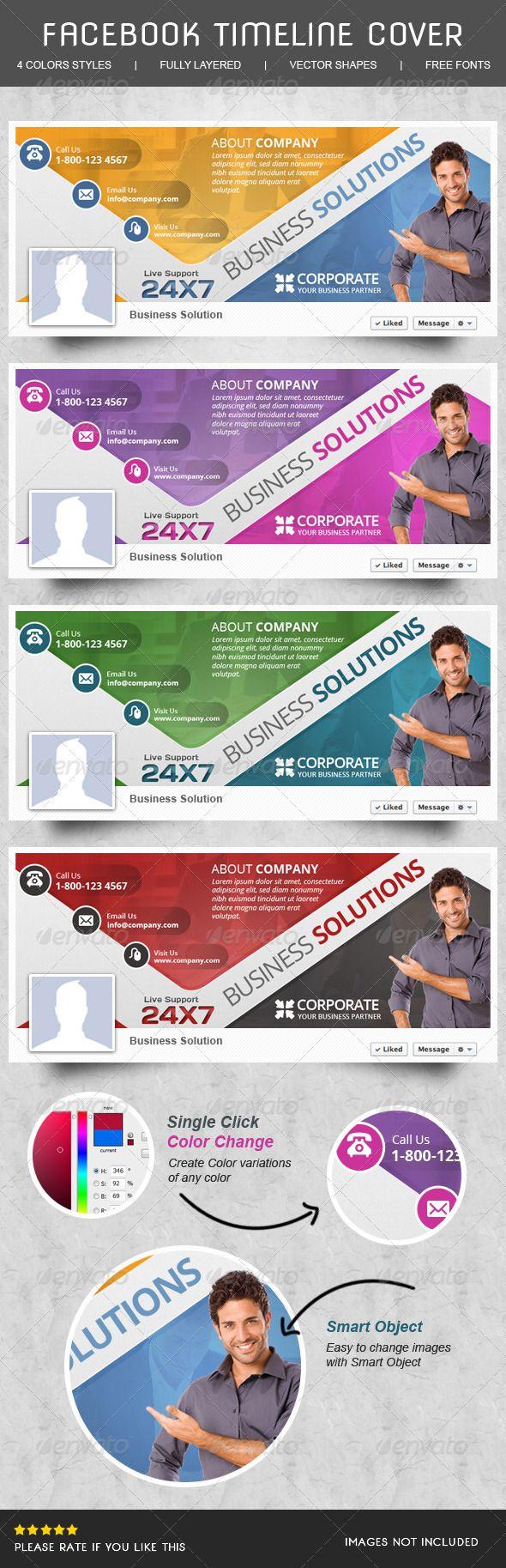 Corporate Facebook Timeline - Facebook Timeline Covers Social Media
