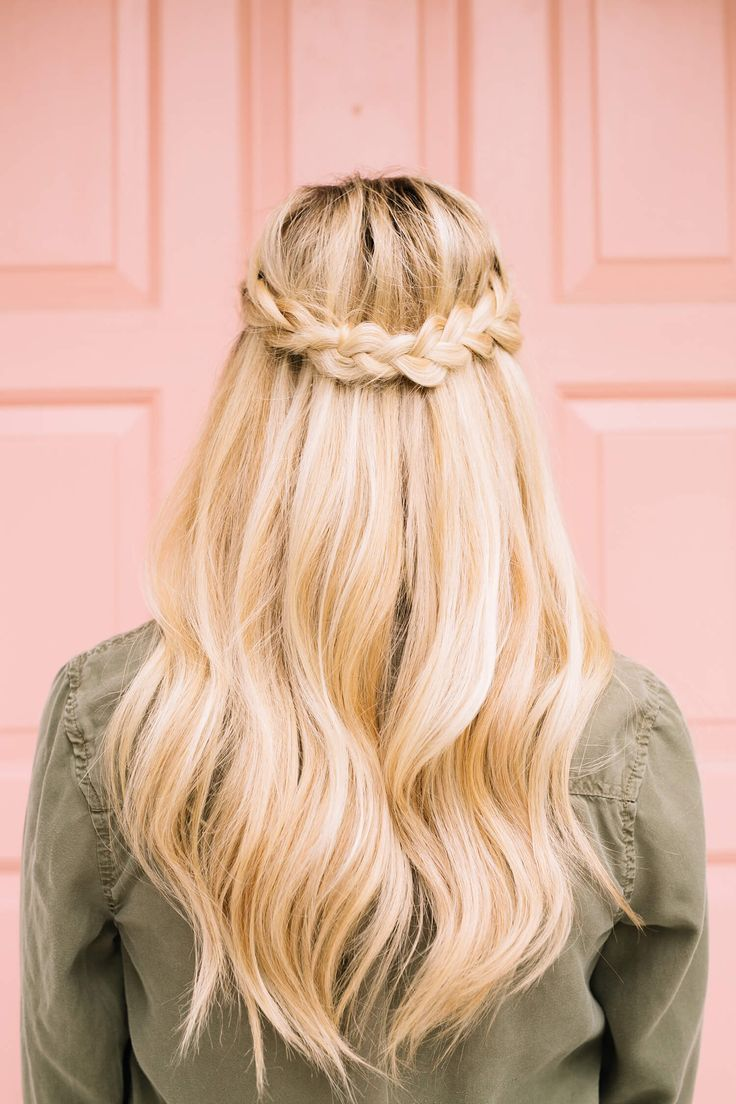 25 best ideas about half french braids on pinterest