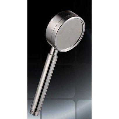 取り換えるだけで、約50%の節水&増圧効果。スタイリッシュなデザインのシャワーヘッドです。材質:アルミニウム合金6063番 使用水圧: 0.05MPa(流動圧)〜0.75MPa(静水圧)サイズ:全長236mm ヘッド直径83mm 重量195g ご使用のホースによっては、別途シャワーヘッドアダプタが必要な場合があります。アダプタは、ホームセンターにて安価で販売しております。カラー:シルバー 持ち手はお子様や女性でも持ちやすいスリムデザイン。極細ストレート水流。穴径を小さくすることでシャワーの勢いを上げ、穴数を増やすことでキメが細かく密度の高いシャワーが出ます。