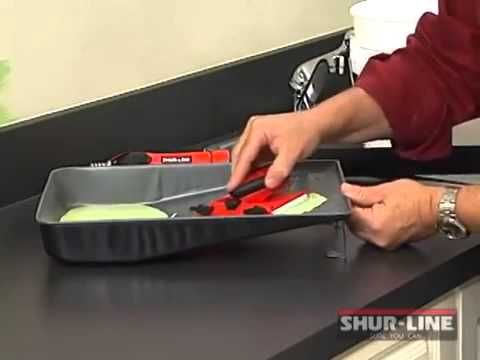 How to Use a Shur Line Paint Edger - YouTube
