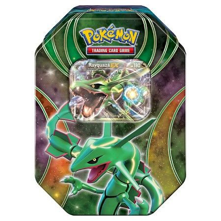 Pokemon Trading Card Game Powers Beyond Fall Tin featuring Rayquaza : Target