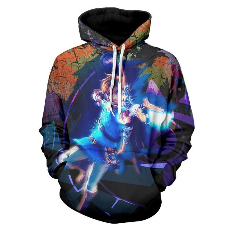The Legend Of Zelda Awesome Link The Hero Of Time Hoodie. #TheLegend #Zelda #Awesome #Link #TheHeroOfTime #Hoodie