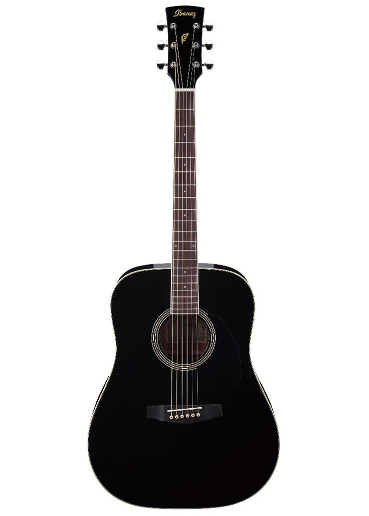 Guitarra acustica Ibanez SeriesPF15, combina lo tradicional y lo moderno con un toque elegante en una guitarra acustica #musciheadstore #guitar #acousticguitar #ibanez