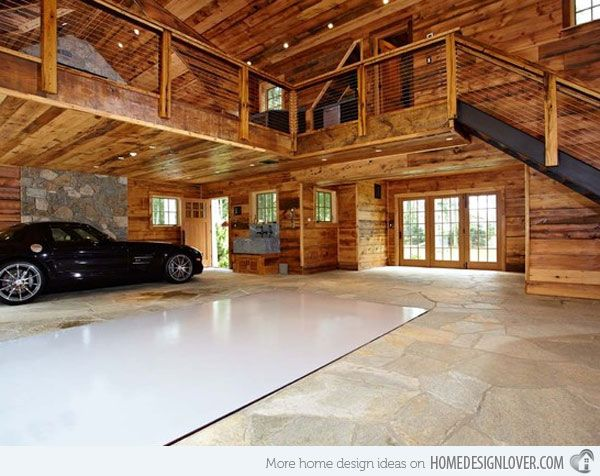 Every Mans Dream Structure A Creative And Luxurious House Garage