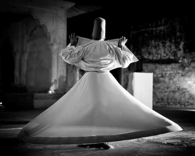 Syrian Whirling Dervish  photograph by David Horsman