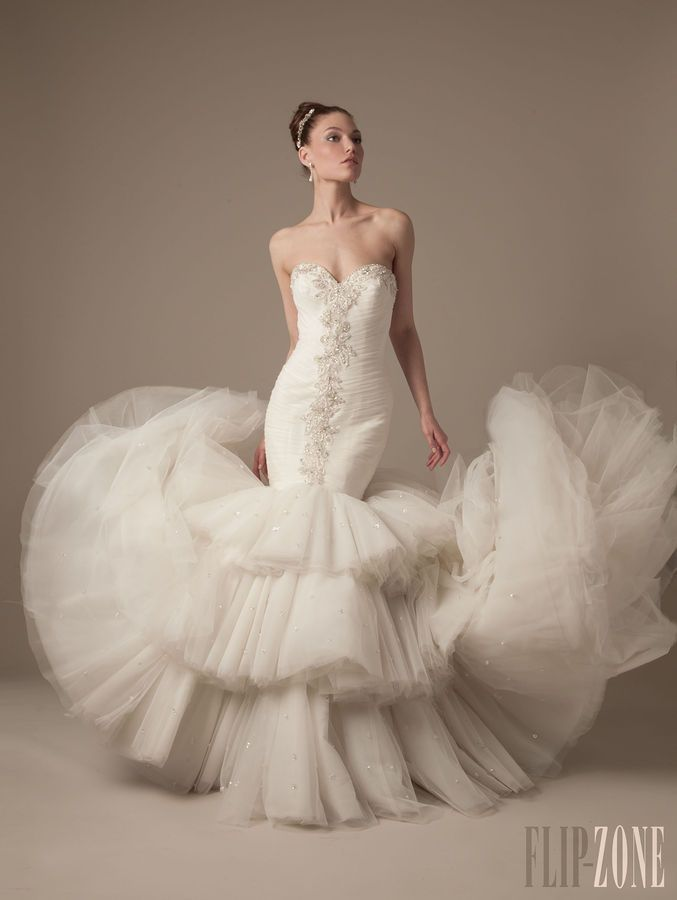 140 best Dennis Basso For Kleinfeld Collection images on Pinterest ...
