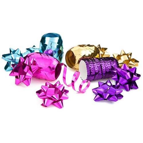 Brights Gift Bow and Ribbon Set | Poundland