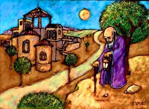 """""""Σ' ένα μακρινό χωριό, κάπου στην Ανατολή, ζούσε ο πιο σπουδαίος ιερωμένος εκείνων των καιρών. Ένας άνθρωπος με μεγάλο κύρος και επιρροή, που παρέμενε απλός και διέθετε απίστευτη σοφία και σπάνια ε…"""