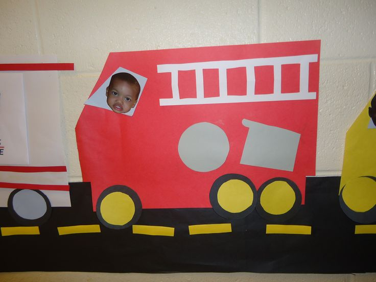 Fire Truck Craft Ideas For Toddlers