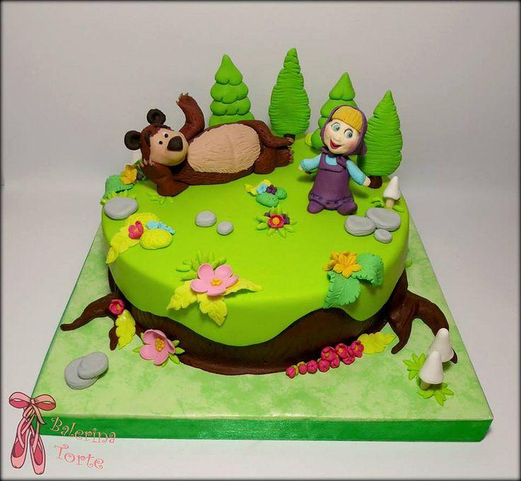 Masha and The Bear Cake - Masa i medved torta by Balerina Torte Jagodina