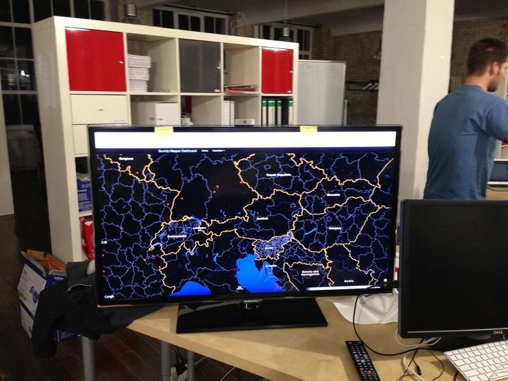 Cédric's map