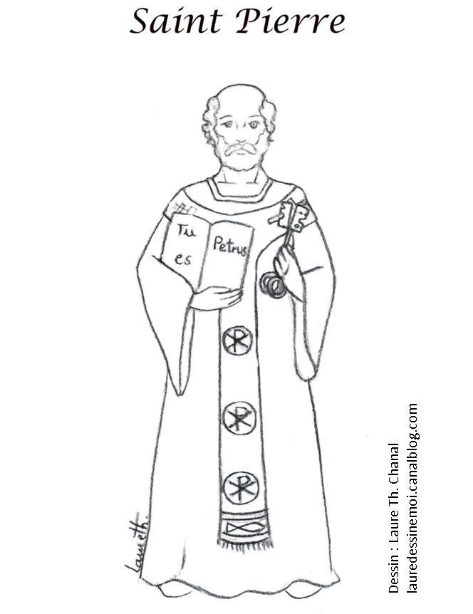 165 Best Saints Coloring Pages Images On Pinterest