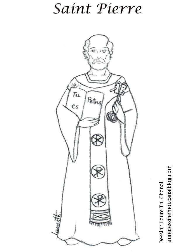 st peter coloring pages - photo#2