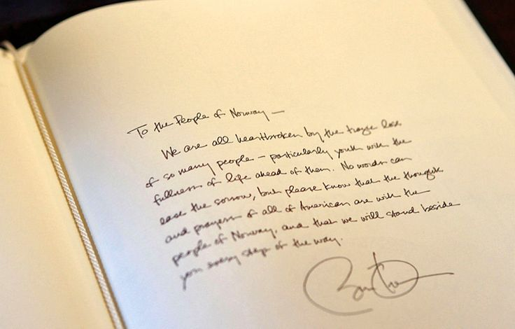 Barack Obama Signature: What Handwriting Analysts Say About President