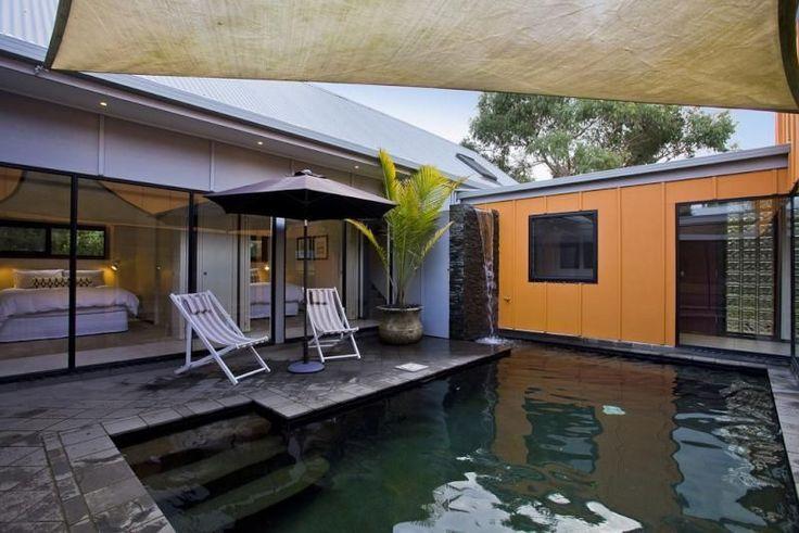 Luxury beach house with pool -, a Anglesea House   Stayz