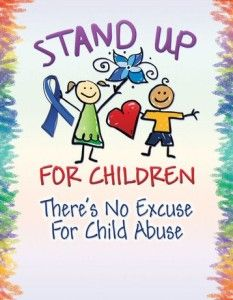 Being a child should never have to hurt. . Will you take a stand against child abuse?