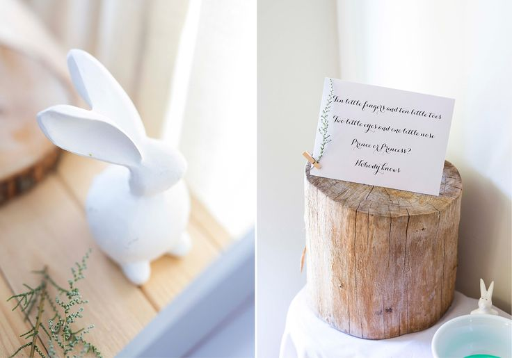 When I found out my best friend was having a beautiful baby girl, I could not wait to share the news. at this small gender reveal party!   hello@theheartfeltcollection.co.za │www.theheartfeltcollection.co.za   │gender reveal party │boy or girl │ideas │decor │stationery │design │inspiration │goals │pretty │simplistic │lavender for girls │mint for boys │rabbit │diy │frame │wooden │plants │white │Mommy to be │Daddy to be │creative │ornament │