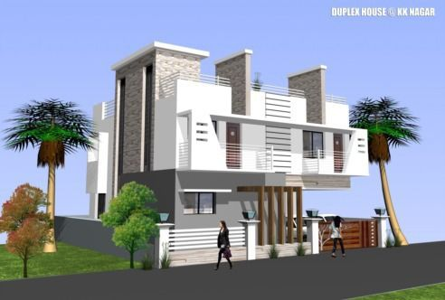 87 best residence elevations images on pinterest home for Independent house elevation photos