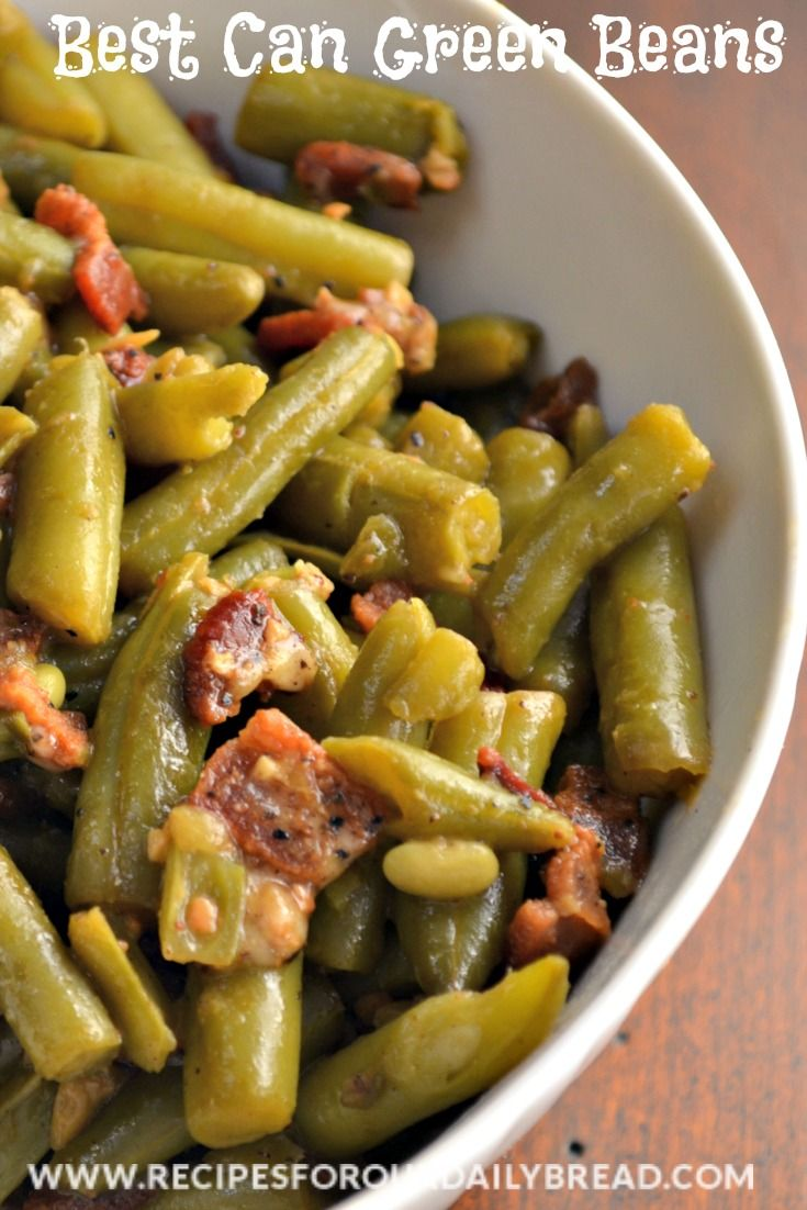 Best Can Green Beans  http://recipesforourdailybread.com/2013/04/25/best-canned-green-beans/ #green beans #vegetables