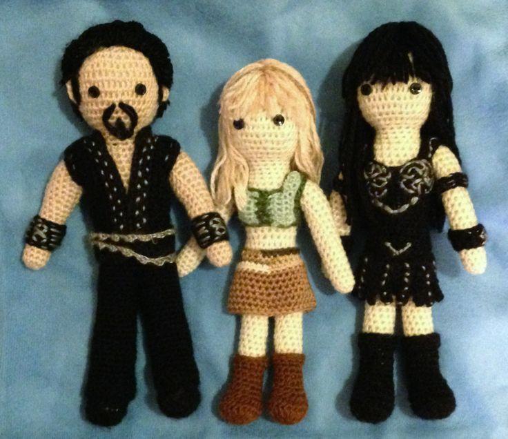 Designer Crochet Amigurumi Patterns Merida Warrior Princess : xena amigurumi pattern - Buscar con Google crochet ...