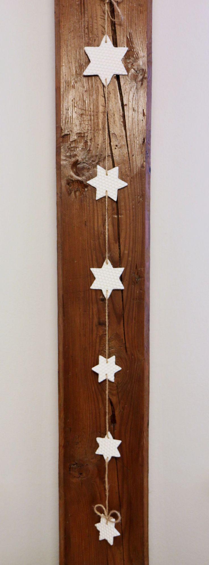 Dekorace hvězdy závěsné