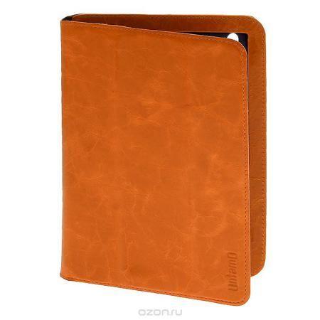 Untamo Timber чехол для iPad mini, Tangerine Jive (UTIMMINITAN)  — 461 руб. —  Кожаный чехол Untamo Timber для iPad mini - ультратонкий чехол ручной работы из натуральной кожи премиум-класса. Он идеально дополняет изящные формы вашего устройства и является стильным и элегантным аксессуаром. Легкий и точно раскроенный аксессуар из натуральной кожи высокого качества дополняет изысканность планшета и обеспечивает всестороннюю защиту. Деликатная внутренняя отделка из микрофибры оберегает от…