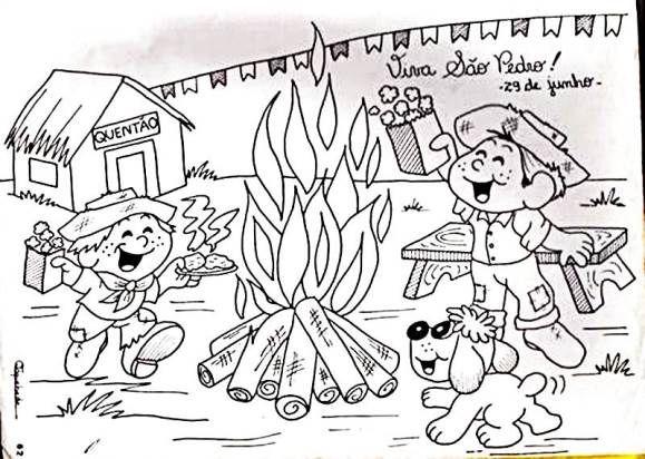 Atividades de festa junina para educação infantil
