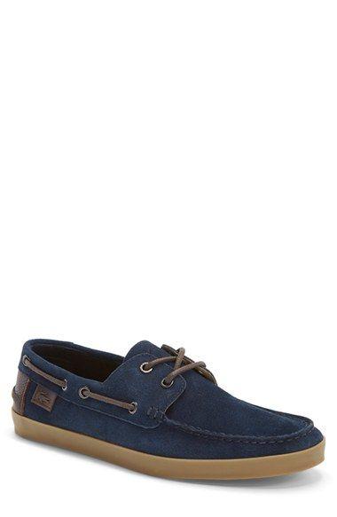 Lacoste 'Keelson 7' Boat Shoe (Men) (Online Only)