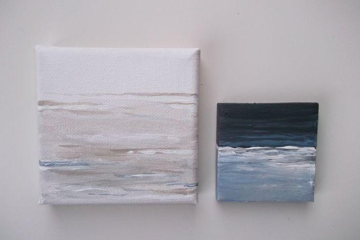 mini schilderijtjes canvas