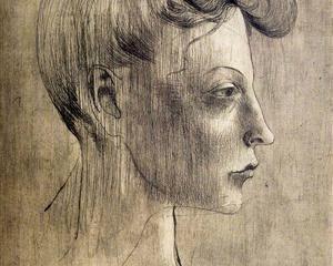 Woman's profile - Pablo Picasso