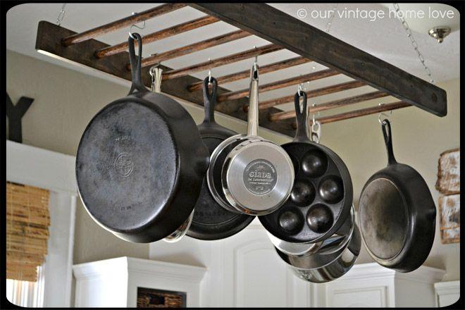 14 Best Images About Pan Racks On Pinterest Copper Pots