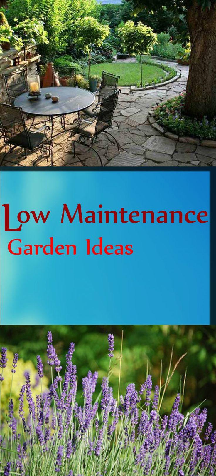 Low Maintenance Garden Design: 1000+ Ideas About Garden Maintenance On Pinterest