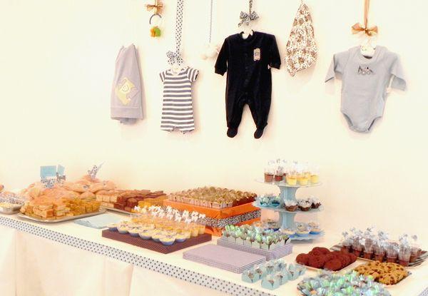 Decoração simples e charmosa para o chá de bebê - Bebê.com.br