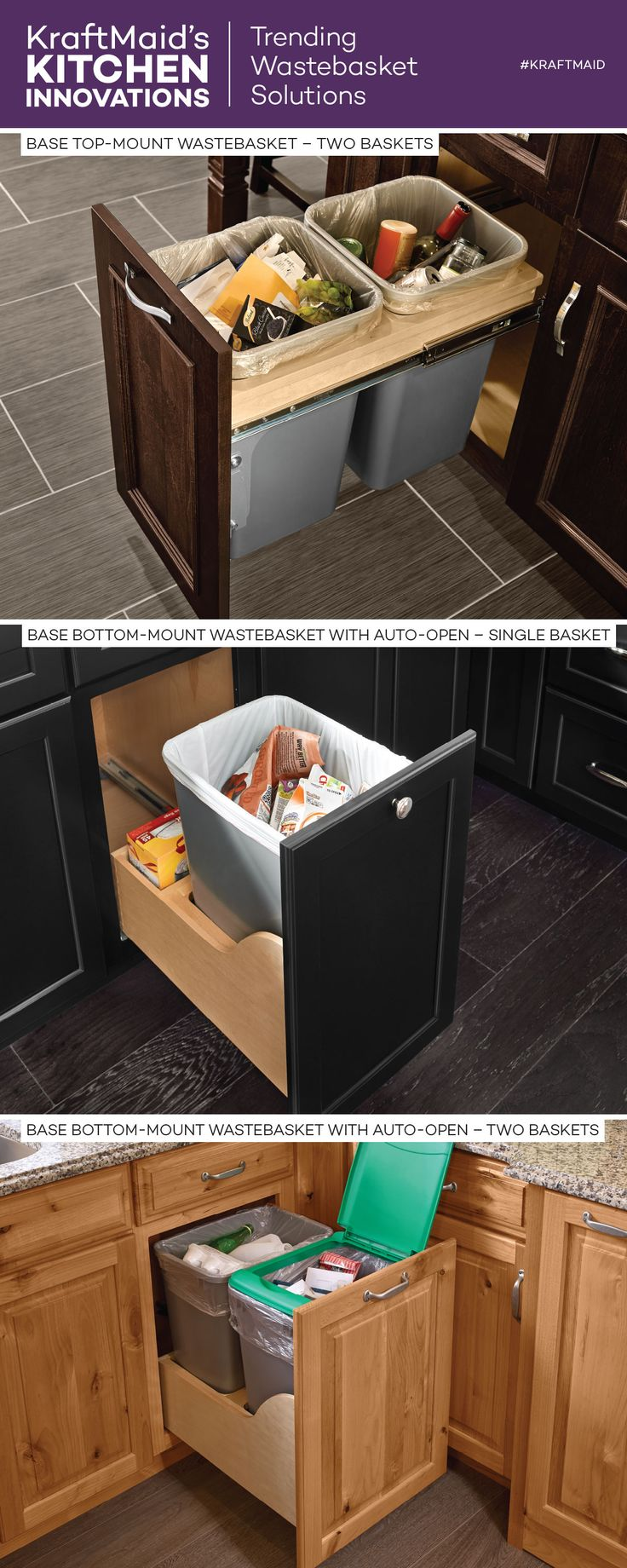 kraftmaid kitchen innovations and storage solutions