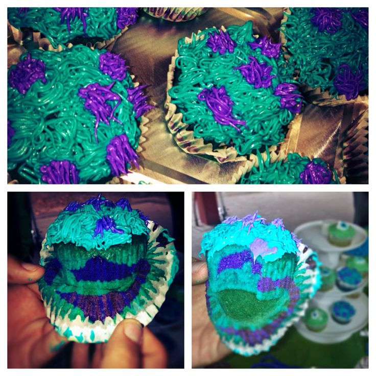 Sully Cupcakes