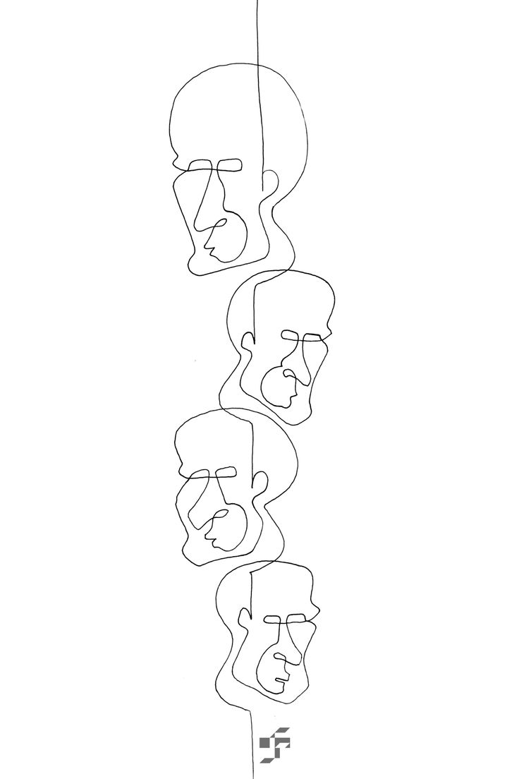 Face by Face - Line Face - http://typeforce.org/