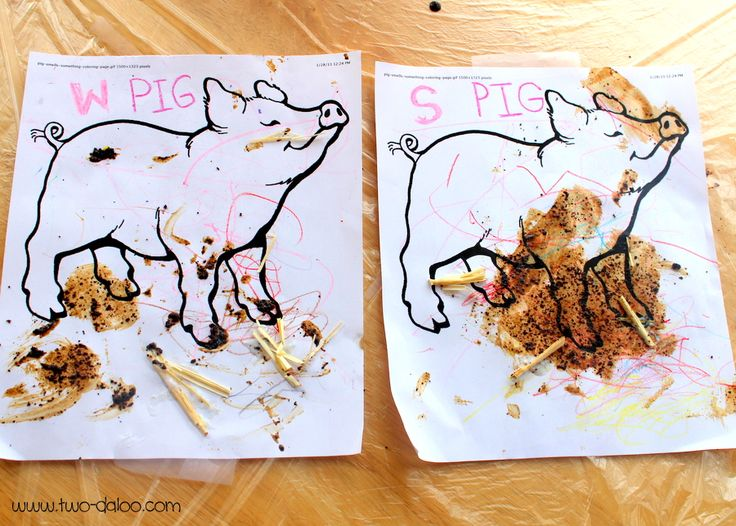 17 best images about preschool farm on pinterest for Painting with coffee grounds