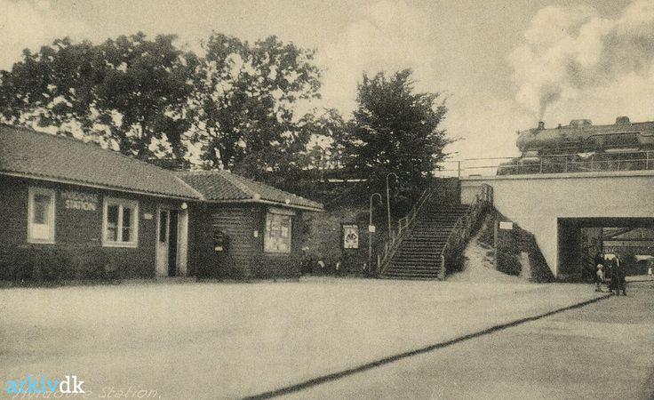 arkiv.dk | Hvidovre Station (trinbræt) 1943