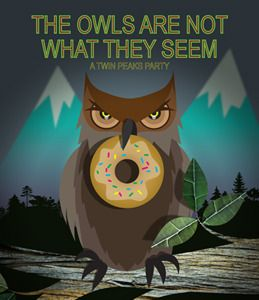 Image result for twin peaks and doughnut holes meme