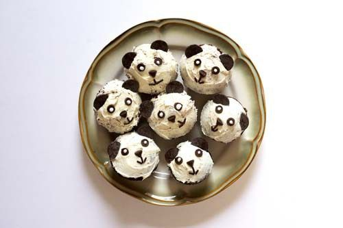 Panda Cupcakes - It's Pandamonium Here! Let Go of Being Perfect