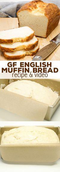 Gluten Free English Muffin Bread�Easy GF Sandwich Bread!