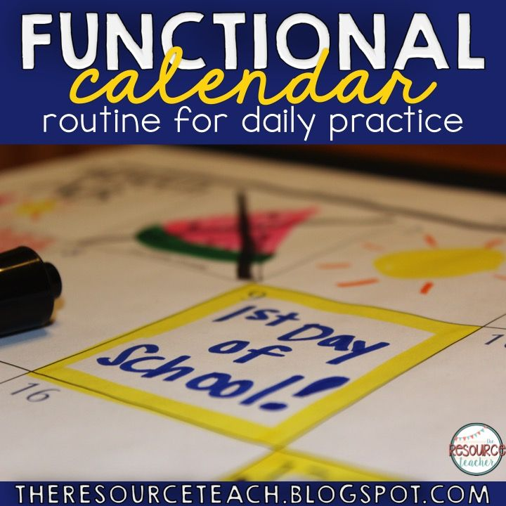 Calendar skills are something that are super important. Students (of all ages) need to be able to look at and understand a calendar. There a...