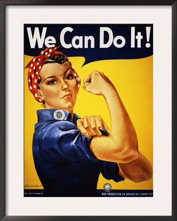 We Can Do It! (Rosie the Riveter) Poster by J. Howard Miller at AllPosters.com