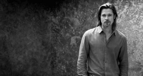 Brad Pitt has a hair cut! No longer looks like a majestic lion! | Moviepilot: New Stories for Upcoming Movies