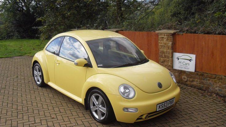 eBay: 2003 VOLKSWAGEN VW BEETLE 1.9 TDI DIESEL YELLOW #vwbeetle #vwbug #vw