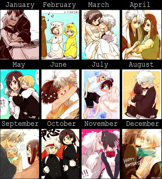 What month were you born ? HitsuHina <3 <3 <3 <3